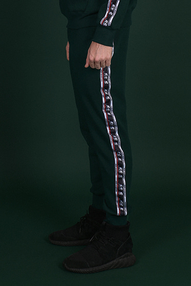 wide tape jogger forest