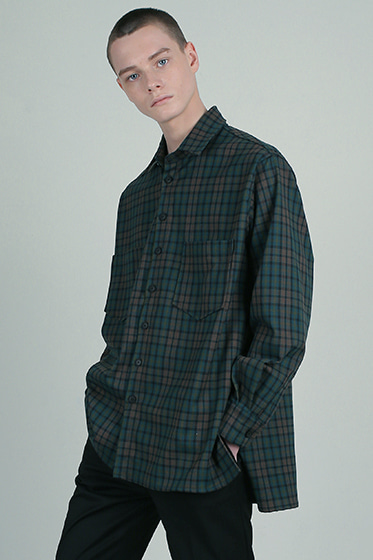 prime neo tartan oversize shirt [sold out]
