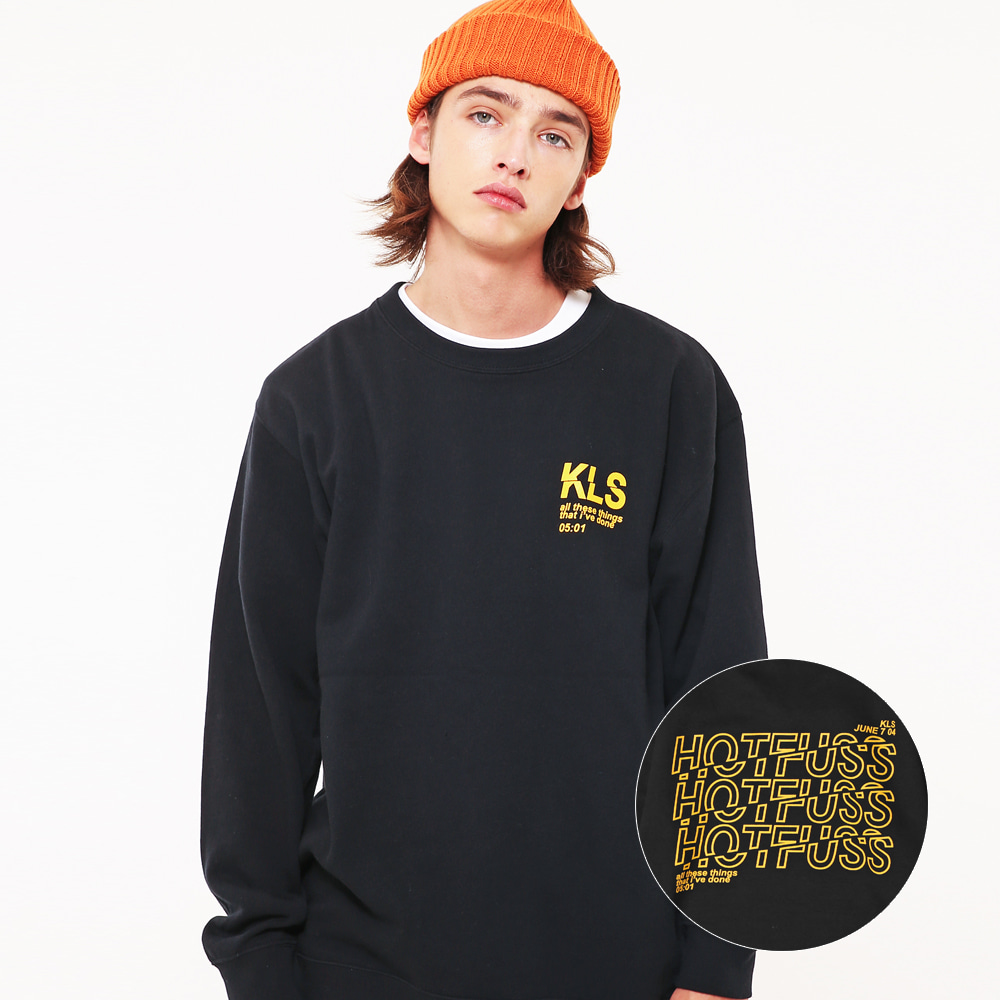 KLS GRAPHIC SWEAT SHIRTS BK
