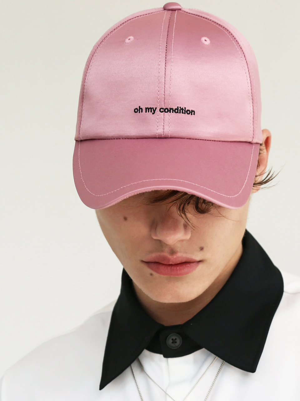 COATED OMC CAP DARK PINK