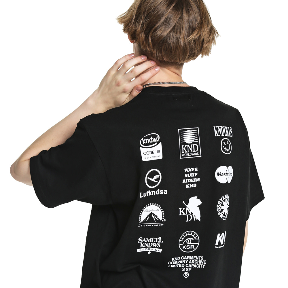 LOGO ARCHIVE GRAPHIC T-SHIRT BLACK