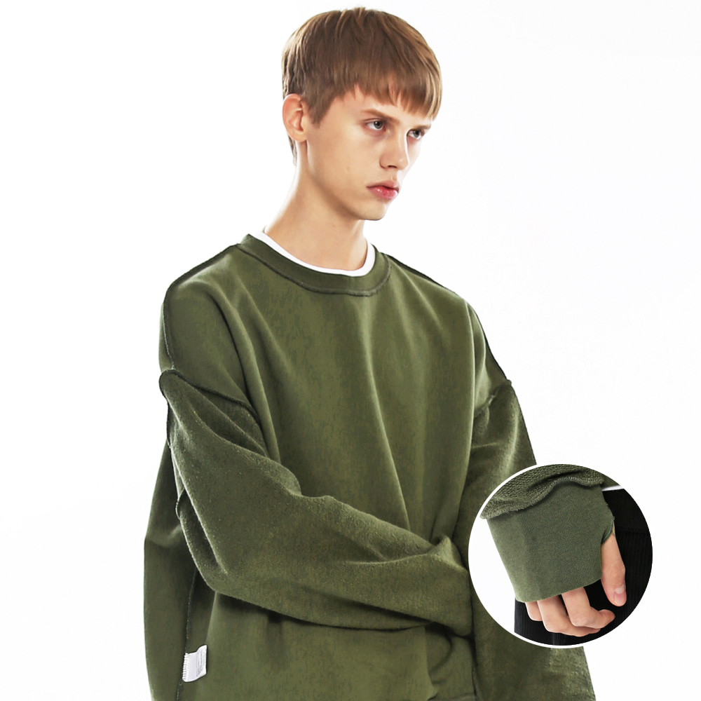 TERRY REVERSIBLE SWEAT SHIRTS-K KK
