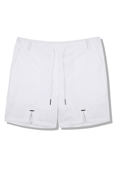 tip string half pants white