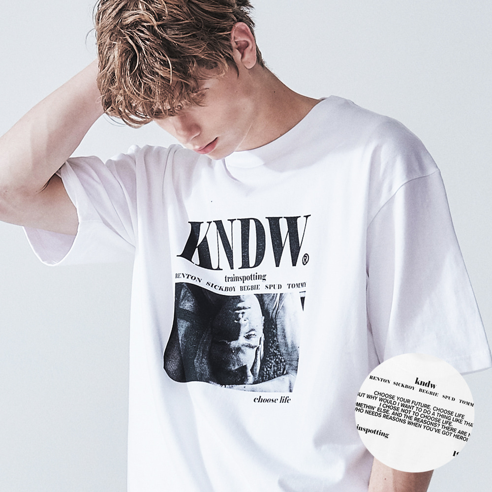 MARK RENTON GRAPHIC T-SHIRT WHITE